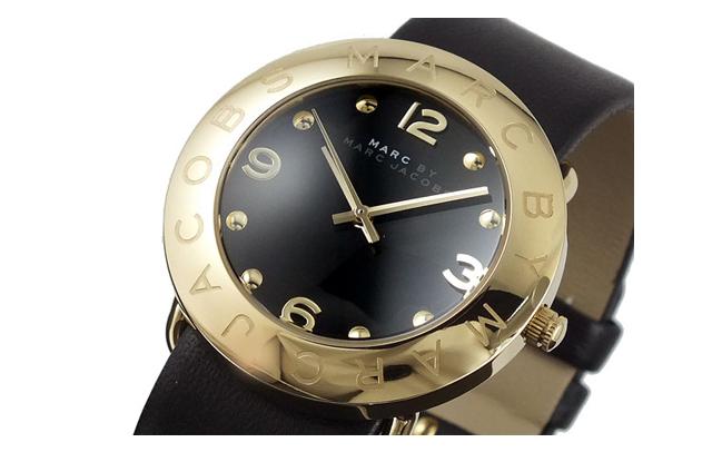 マークバイ マークジェイコブス革バンド腕時計