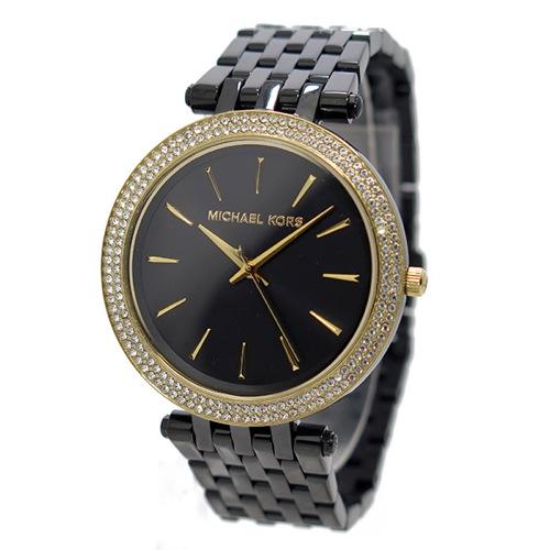 マイケルコース MICHAEL KORS クオーツ レディース 腕時計 MK3322 ブラック