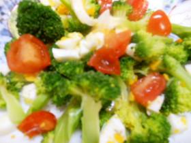 ブロッコリーのサラダ 超簡単時短