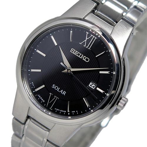 セイコー SEIKO ソーラー クオーツ レディース 腕時計 SUT229P1 ブラックがおすすめ