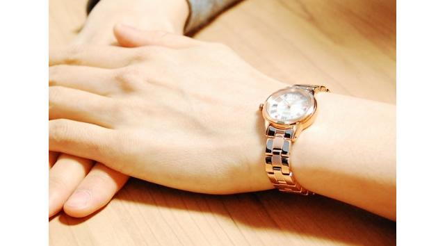 セイコー メタルバンド腕時計