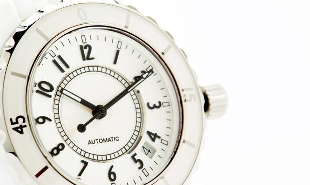 時計は着けない