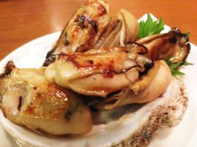 牡蠣バター醤油炒め