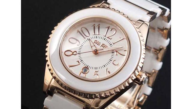 フォリフォリ替えベゼル付き 腕時計 WF0B033BDW