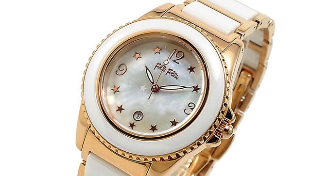 フォリフォリ レディース 腕時計 WF1R001BZW