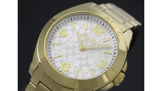 コーチの腕時計は定番ブランド
