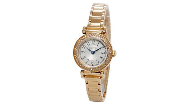 ピンクゴールドメタルバンド腕時計がおすすめ