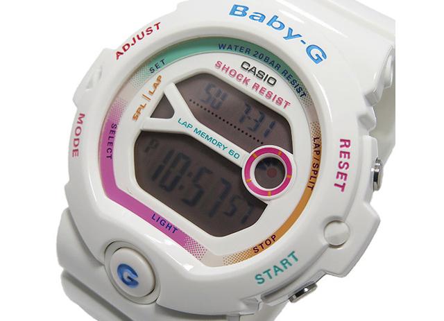 カシオ Baby-G クオーツ BG-6903-7C ホワイト