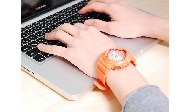 カラフルBABY-G腕時計がおすすめ