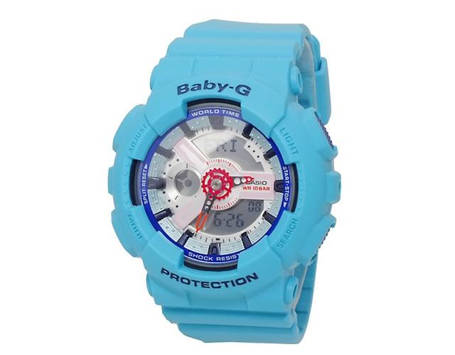 BABY-G ブルー腕時計