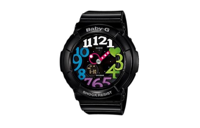 BABY-G ブラック腕時計