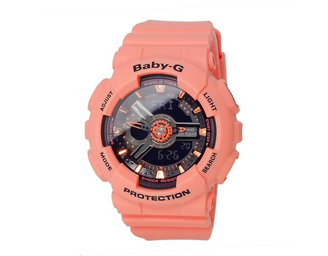BABY-G ピンク腕時計