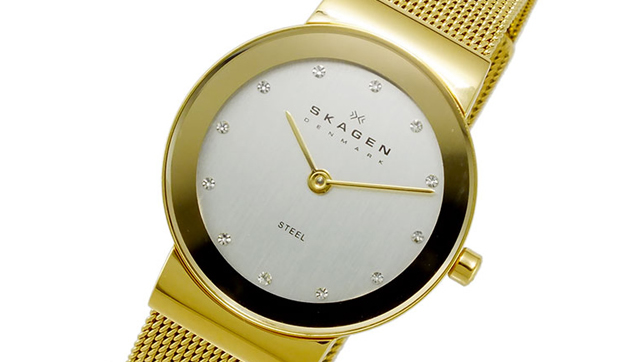スカーゲン腕時計358SGGD
