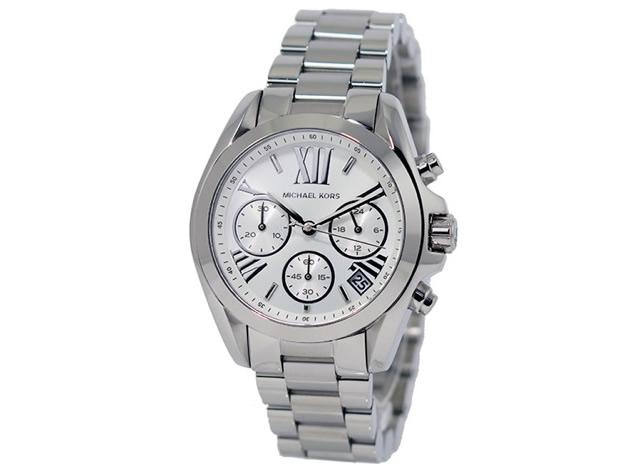 マイケルコースシルバー腕時計
