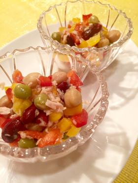 カラフルサラダレシピ