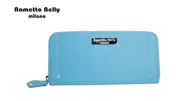 ラメットベリー財布