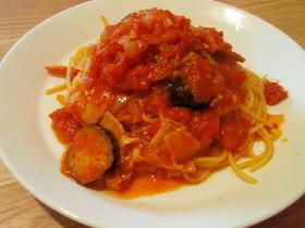 トマトソースパスタレシピ
