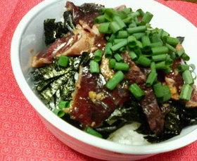 カツオ漬け丼レシピ