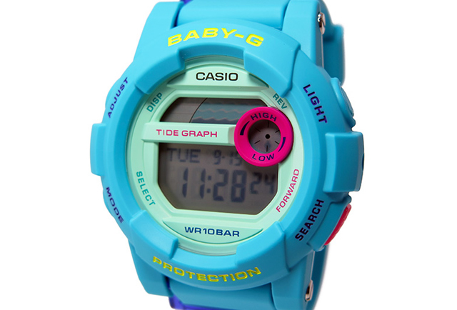 BABY-G腕時計ブルー