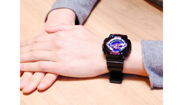 BABY-G腕時計ブラック