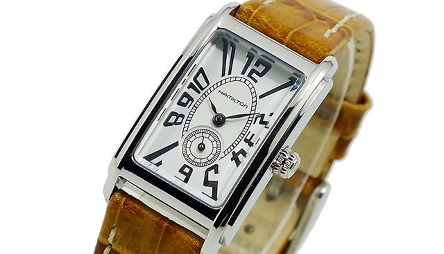 仕事にピッタリな上品なハミルトン腕時計