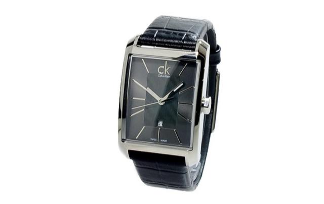 清潔感アップなカルバンクライン腕時計