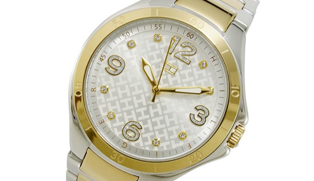 遊び心のあるデザイントミーヒルフィガー腕時計
