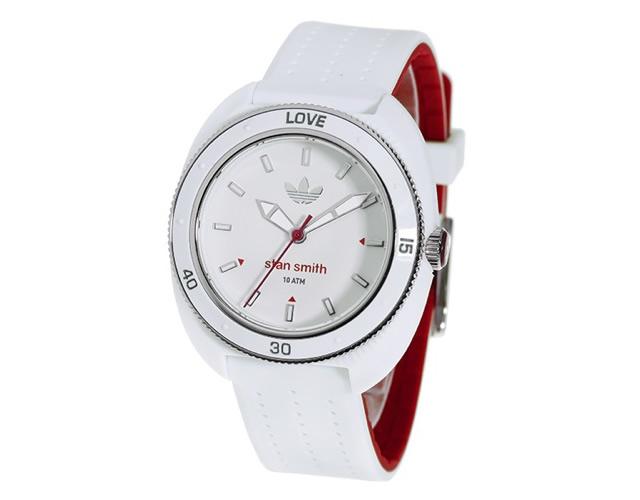 アディダス ホワイト腕時計