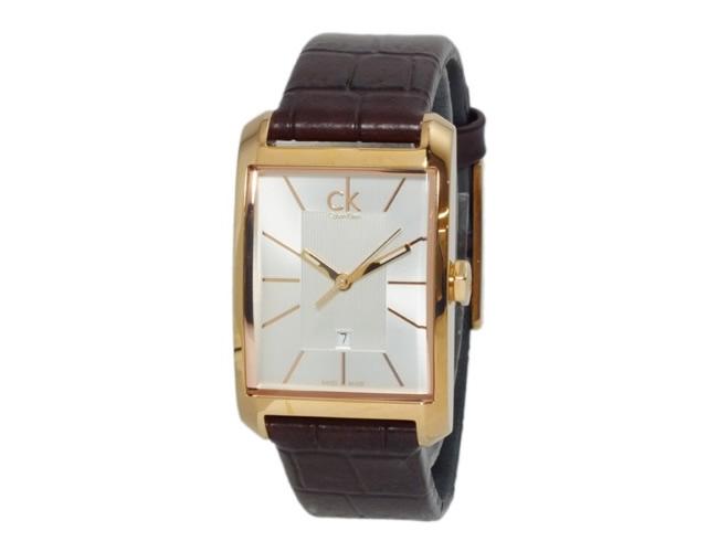 カルバンクライン腕時計革ベルト