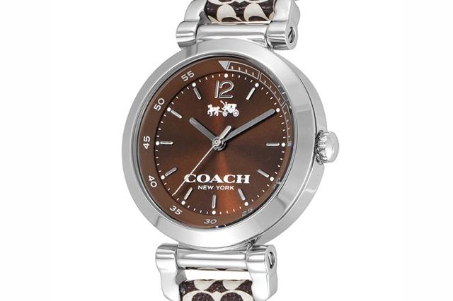 コーチ腕時計14502317 ブラウン