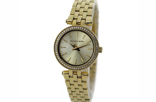 マイケルコース クオーツ レディース 腕時計 MK3295 ゴールド