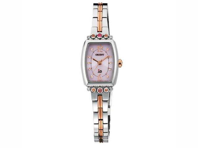 アクセサリーのようにきれいなオリエント腕時計