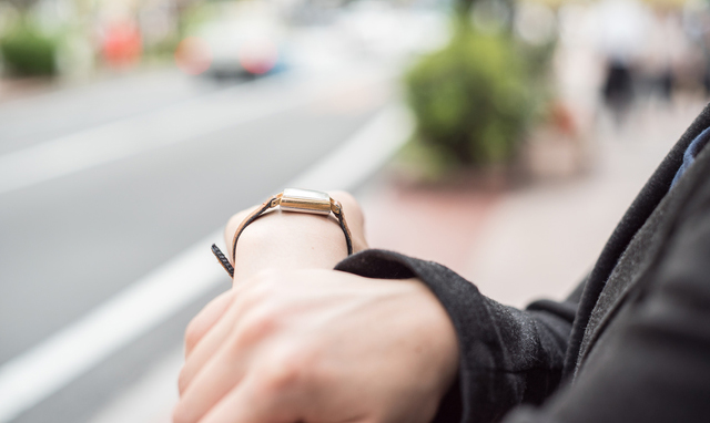 正確さを求める女性にピッタリな腕時計
