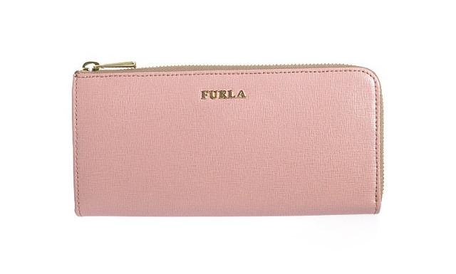 フルラの財布は女子カラーがかわいい