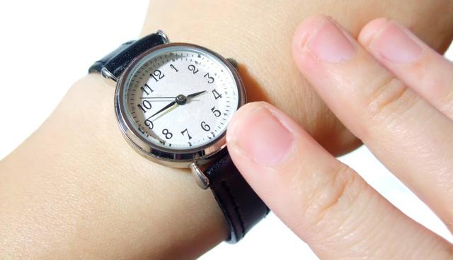 ラメットベリー腕時計 革ベルト