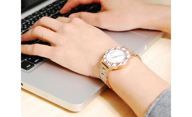 遊び心が満点な腕時計