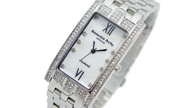 ラメットベリーRAB2130WH腕時計