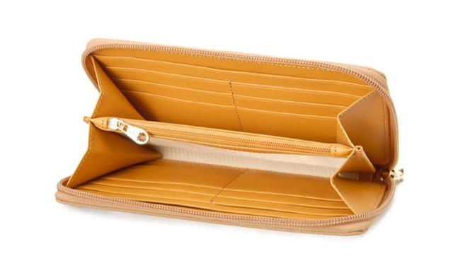 ラメットベリーのレディース財布は収納力が高い