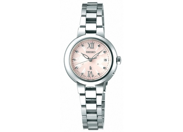 女性らしいカラーと上品差が魅力な腕時計