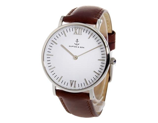キャプテンアンドサン腕時計SV-KS36WHBRL