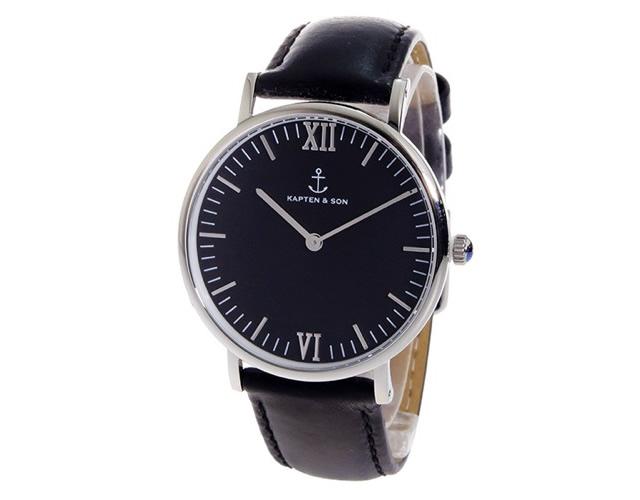 キャンプテンアンドサン腕時計SV-KS36BKAB