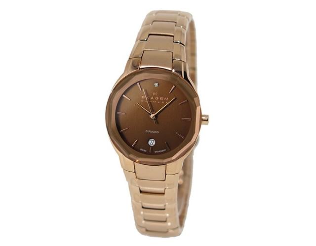 ラグジュアリー感があるスカーゲン腕時計