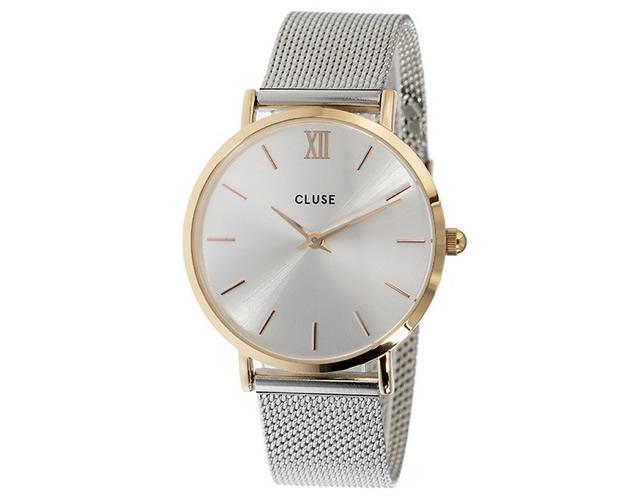 クルースメタルバンド腕時計
