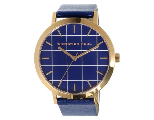 クリスチャンポール腕時計GR-07 ブルー