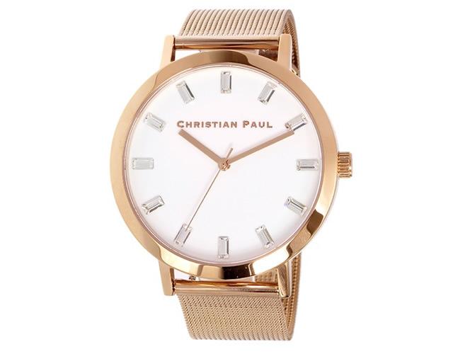 クリスチャンポール腕時計SWM-02 ホワイト