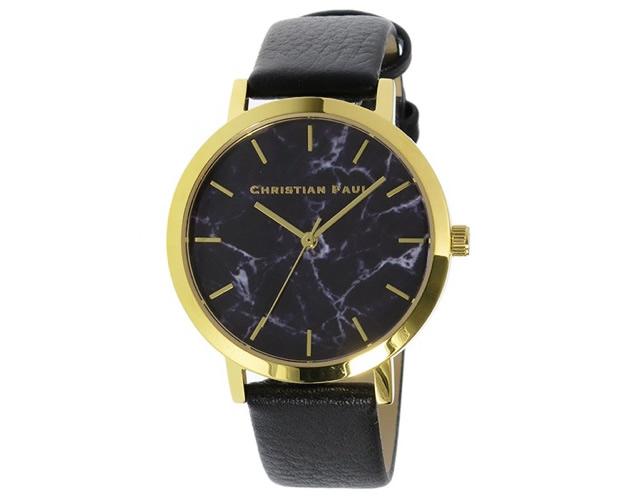 クリスチャンポール腕時計MRL-04 ブラック