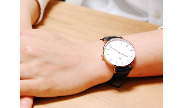 定番の使いやすい腕時計
