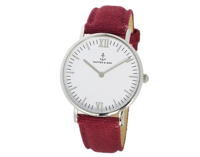 キャプテン&サン腕時計SV-KS36WHBC