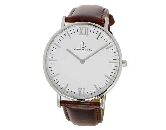 キャプテン&サン腕時計SV-KS40WHBRL