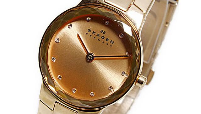 文字盤にもこだわったデザインのスカーゲン腕時計